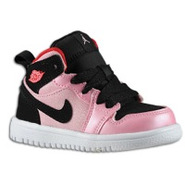 Retro 1 Mid - Girls Toddler - Ion Pink/Gym Red/Bla