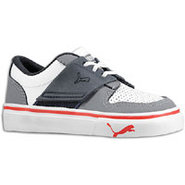 El Ace 2 - Boys Toddler - White/Steel Grey/New Nav