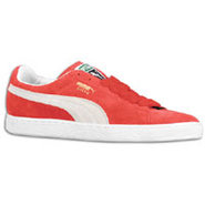 Suede Classic Eco - Mens - Team Regal Red/White