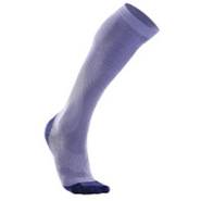 Performance Compression Run Sock - Womens - Lavend