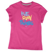We Run Things S/S T-Shirt - Girls Grade School - F