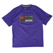 Swag T-Shirt - Boys Grade School - Varsity Purple