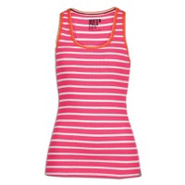 Stripe Racerback Tank - Womens - Rose