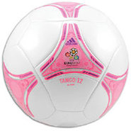 Euro 2012 Glider Ball - Zero Metallic/Ultra Pop