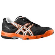 Gel Game 4 - Mens - Black/White/Orange