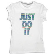 Imagery S/S T-Shirt - Girls Grade School - White