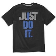 I Do It S/S T-Shirt - Boys Grade School - Black