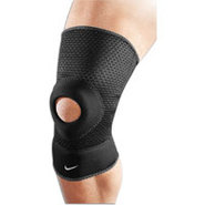 Open Patella Knee Sleeve - Black