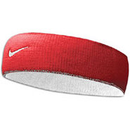 Premier Home & Away Headband - Mens - Red/White