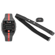 FT7 Fitness Monitor - Black/Red