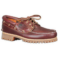3 Eye Boat Shoe - Mens - Burgundy