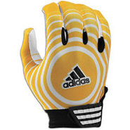 Supercharge Receiver Glove - Mens - Gold/White