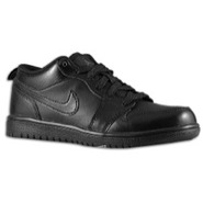 AJ1 Low - Boys Preschool - Black/Black/Black