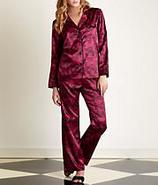 Cuddly Satin Pajama Set Sleepwear