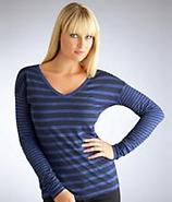 Mix Stripe Long Sleeve T-Shirt