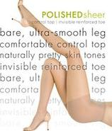 Polished Sheer Control Top Pantyhose Panty Hose