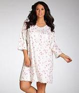 Glass Slipper Nightshirt Plus Size Sleepwear