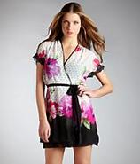Roses Short Robe Sleepwear