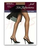 Silk Reflections Reinforced Toe Control Top Pantyh