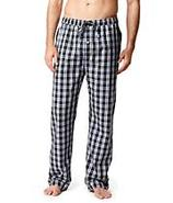 Poplin Plaid Pajama Pants Sleepwear