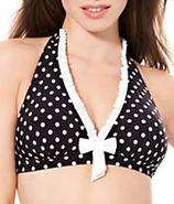 Tea At 3 Halter Wire-Free Swimwear Top