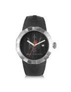 Tridente - Stainless Steel and Rubber Men&#39;s Watch