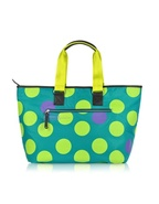 XL Dot Line - Medium Nylon Hold-All Tote
