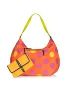 XL Dot Line - Large Nylon Hold-All Tote