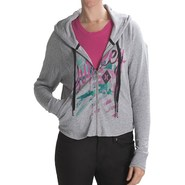 Hurley Freshman 15 Hoodie - Full Zip (For Women)