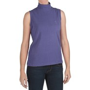 Nina Capri Mock Neck Shirt - Sleeveless (For Women