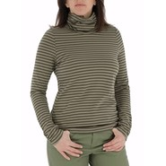 Royal Robbins Lucy Stripe Turtleneck - Organic Cot