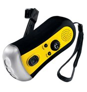 Hand Crank Radio and Flashlight