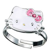 Hello Kitty- Adjustable Ring