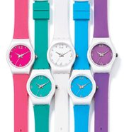 Colorful Strap Watch
