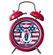 Mickey Americana Twin Bell Clock