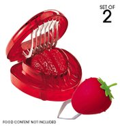 Strawberry Slicer and Huller Set