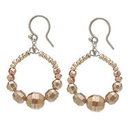 Earrings, Rose Gold, Rose Gold, 1 ea