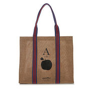 eco shopping bag, a is for apple, 1 ea