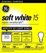 15 Watt 2-Pack Soft White Light Bulbs (90001)