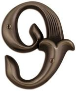 Alhambra Aged Bronze Finish House Number 9 (P2161)