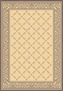Portico Collection Natural and Brown 2'x3' 7 Area