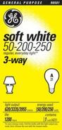 3-Way 50-200-250 Soft White Light Bulb (90501)