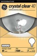 40 Watt G25 Clear Base Decorative Light Bulb (9088