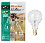 Candelabra Base A15 2-Pack 40 Watt Clear Ceiling F