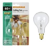 2-Pack 60 Watt A15 Ceiling Fan Light Bulbs (34883)