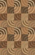 El Toro Checkerboard Wool 5&#39;x8&#39; Area Rug (56111)