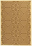 Portico Collection Brown 2' 0 x3' 7  Area Rug (123