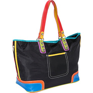 Color Block Large Tote - Tote