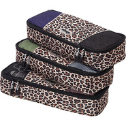 Slim Packing Cubes - 3pc Set Leopard - eBags Packi