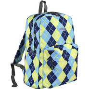 Ivy Backpack Argyle-Navy - J World School & Day Hi